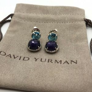David Yurman Chatelaine Black Orchid W/ Blue Topaz